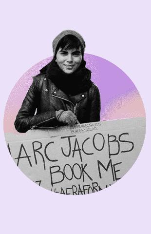 Afra Cuellar Marc Jacobs