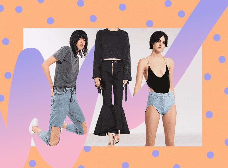 jeans poco convencionales