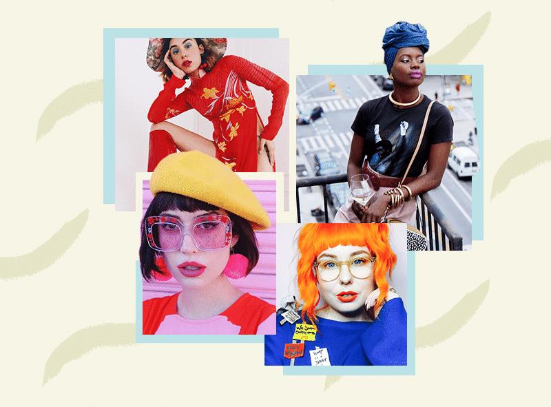 Instagrameras coloridas