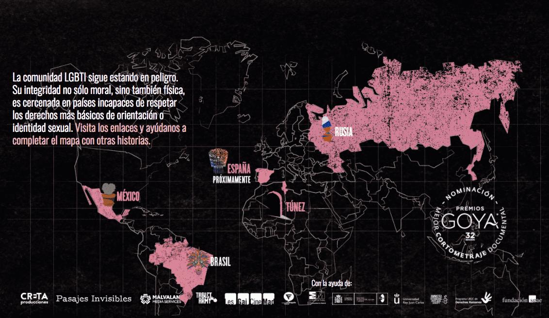 La Primavera Rosa mapa