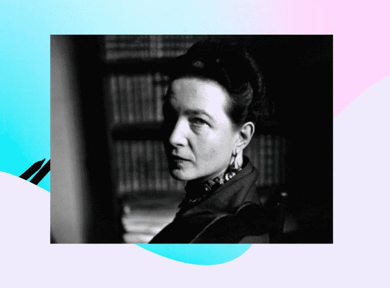Frases de Simone de Beauvoir para mandar enmarcar y leerlas como ...