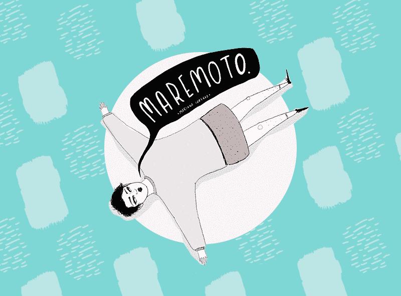 viñeta ilustrada Maremoto
