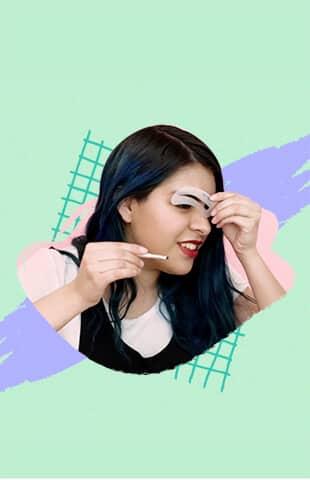 moldes para cejas