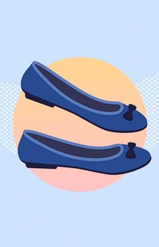 emoji de zapatito flat