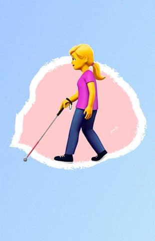 emojis para personas con alguna discapacidad