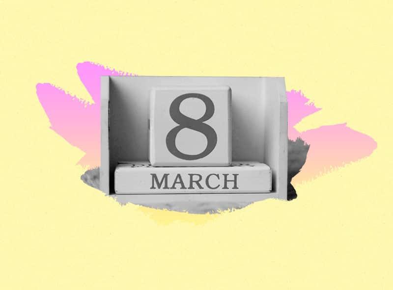 marcha del Día de la mujer en México