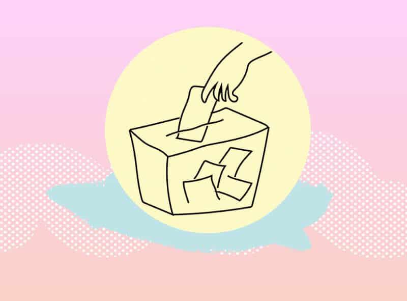 votar por primera vez