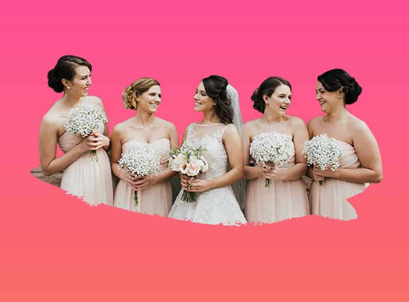 ideas para vestir damas de honor