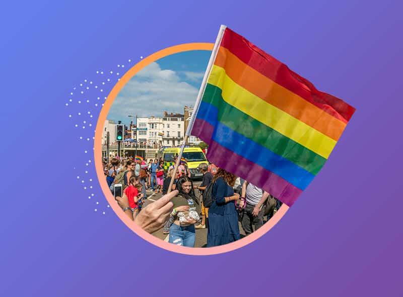 colores de la bandera lgbt