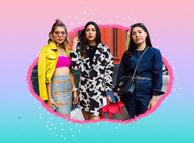 looks de Fashion Week México