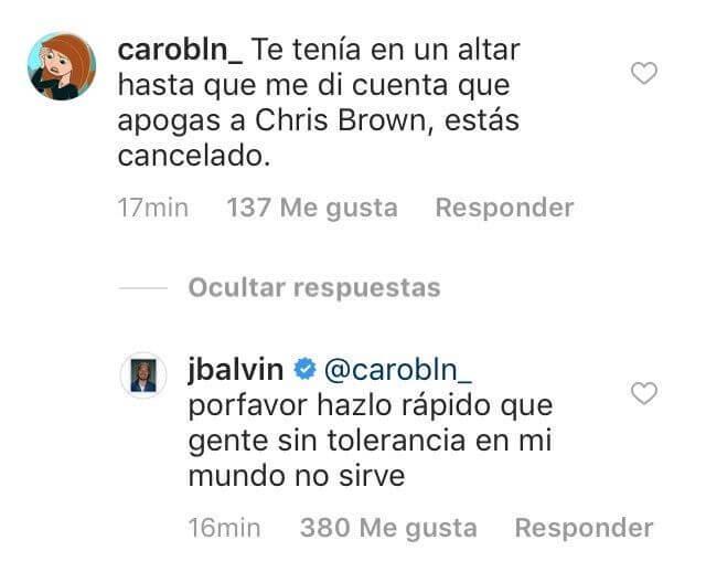 j balvin está cancelado