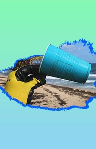 limpiar el mar
