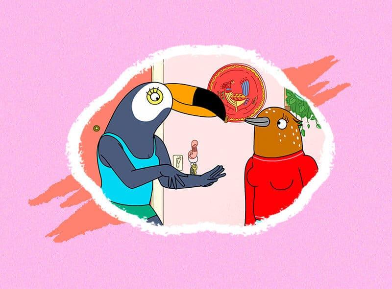 personajes de animacion feministas