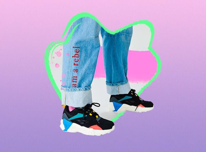 Cómo combinar dad sneakers