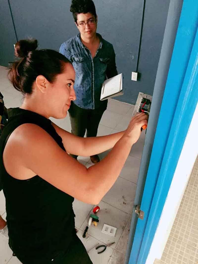 talleres de construcción para mujeres