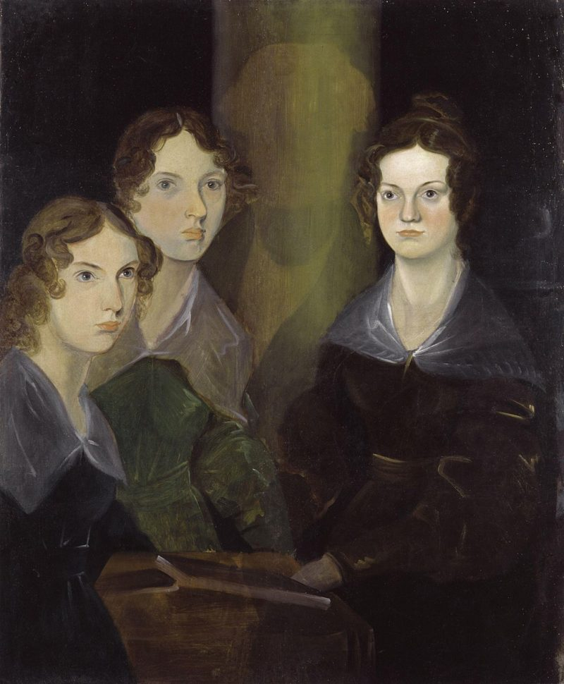 Cuadro de Patrick Branwell Brontë