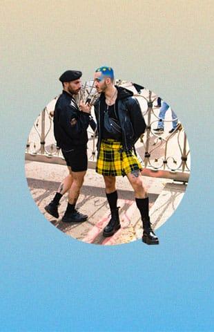 falda para hombres