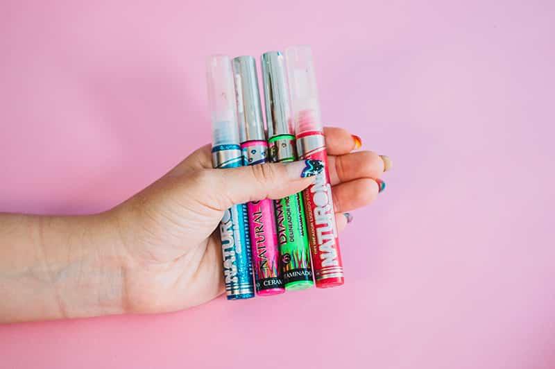 delineadores de colores