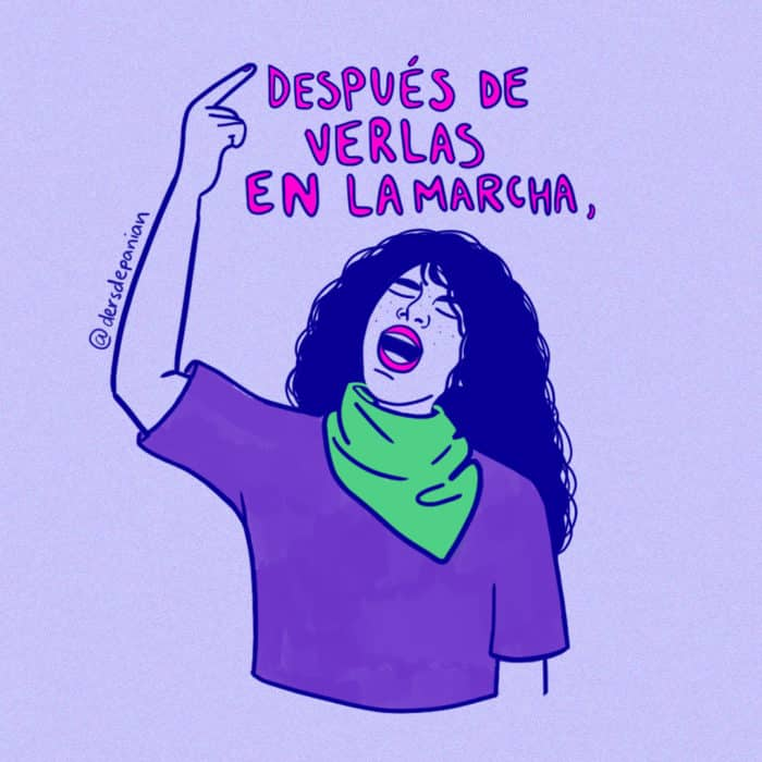 marcha feminista