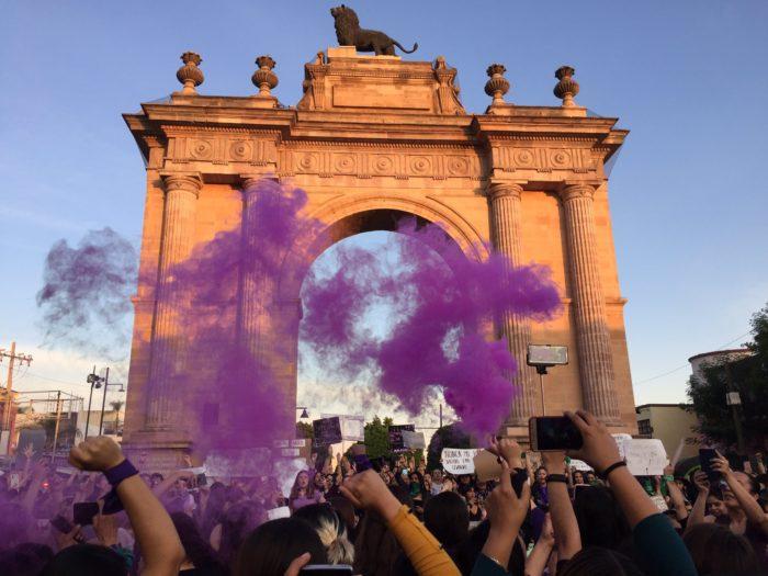 marcha 8M Guanajuato